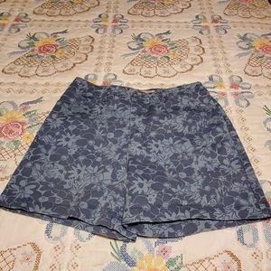 Faded Glory Ladies Stretchy Denim Shorts